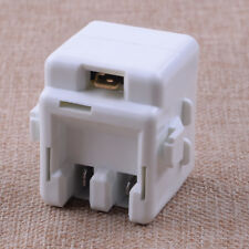 White Refrigerator Overload Relay 61005518 Replace # 12002782 Fit Maytag Kenmore