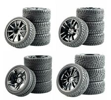 1/10 Onroad Touring Rc Car Wheel & Rubber Tires For Traxxas Nitro 4tec 4-tec 2.0