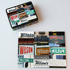 Personalized Puzzle featuring the name WILSON in signs