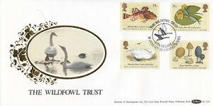 (86926) GB Benham FDC BLCS29 Linnean Society Swan Lake Arundel 1988