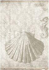Decoupage-Bastelpapier-Softpapier-Vintage-maritim-Muschel-12379