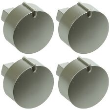 4 x Diplomat ADP3230 ADP3640 Silver Main Oven Grill Hob Cooker Control Knobs