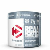 Dymatize Nutrition BCAA Complex 2200 Time-Released Amino Acids - 200 Tablets