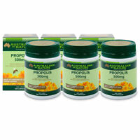 Australian By Nature Propolis 500mg 365 Capsules Natural Immune Boost x 3