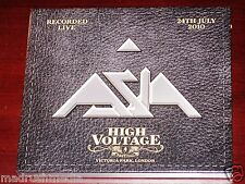 Asia: High Voltage Festival London Live 2010 2 CD Set 4Worlds USA Slipcase NEW