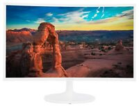 "NEW Samsung Curved 32"" Full HD Super Slim Immersive LED 60Hz Monitor C32F391WN"