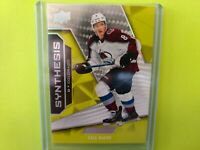 2019-20 Cale Makar Upper Deck Engrained Synthesis Green #S-48 COMBINED SHIPPING