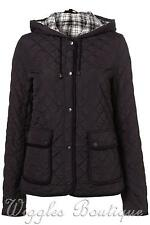 TopShop Women's Polyester No Pattern Popper Coats & Jackets