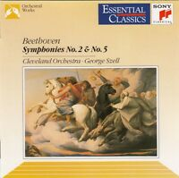 Beethoven : Cleveland Orchestra · George Szell ‎CD Symphonies No. 2 & No. 5