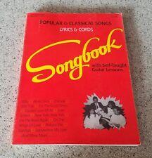 Popular and classic songs lyrics & cords Sonhbook Volume 1 1991