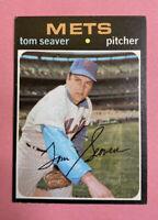 Tom Seaver 1971 Topps #160 (BV $25) New York Mets EX+