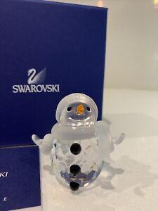 Swarovski Crystal Figurine Snowman 250229 NIB