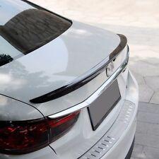 Real Carbon Fiber Rear Trunk Boot Lip Spoiler For Mazda 6 Atenza M6 2014~2016
