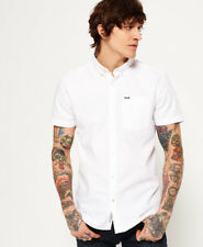 Superdry Ultimate S/s Oxford Shirt Optic Optic 2xl