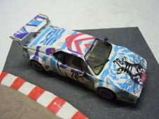 Rar: bmw m 1 Procar artcar en Plafit Super 24 metal chasis scaleracer 1:24