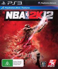 NBA 2K12 PS3 Game