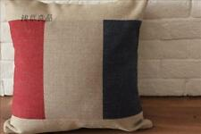 45cmX45cm Vintage Retro Country Classical French Flag CUSHION COVER PILLOW CASE