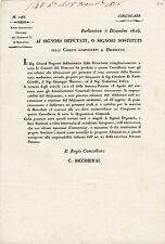 DOCUMENTO BARLASSINA MONZA BRIANZA 1816 AVVISO DI CONGRESSO COMUNALE  4-186