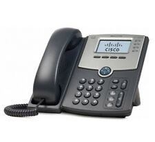 Cisco SPA504G SPA504 4 Line VoIP IP SIP Phone PoE 2 LAN PC Port LCD w Power