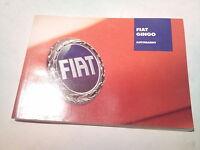 Betriebsanleitung Fiat Gingo Autoradio deutsch