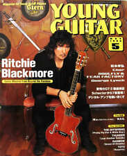 Young Guitar May/99 Ritchie Blackmore George Lynch B'z Tak Fear Factory Lukather