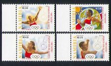 Namibia 2008 Olympics/Sports/Games/Athletics/Athletes/Medals 4v set (n33798)