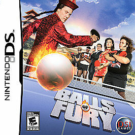 Balls of Fury Nintendo DS new complete kids game 2DS 3DS