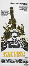 Patton George C Scott movie vintage poster print #2