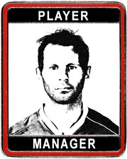 Ryan Giggs - Player Manager Manchester United badge