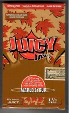 Juicy Jay's MAPLE SYRUP Flavored 1 1/4 Size Hemp Rolling Papers - BOX - 24 Packs
