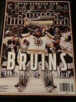 2011 Sports Illustrated Boston Bruins NHL Stanley Cup Champs Commemorative Issue