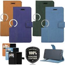 Surazo ® Véritable sac en cuir Housse de Protection Portable Housse Flip Case Wa...