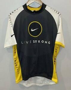 Nike Livestrong Men's Cycling Jersey Short Sleeve EUC XL