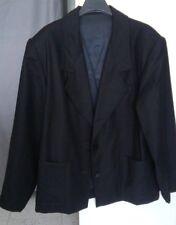 Giacca nera donna, veste xl, misto lana