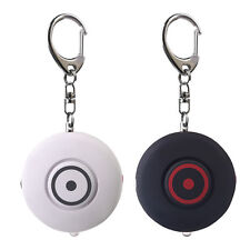 2 Pack 130dB Personal Safety Alarm Keychain Security Alarm Self Defense