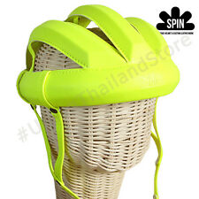 Vintage Cycling Bicycle Helmet Adult L'eroica Cycling Retro Classic Neon Yellow