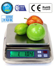 SCALA IMPERMEABILE 1500 G Mrw1500 IP65 Cibo Acqua Vernice succo di frutta olio incrementi di 0.05 G