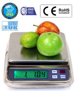 Waterproof Weighing Scale 1500g Mrw1500 IP65 Food Water Paint Juice Oil by 0.05g