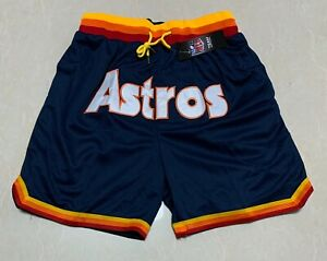 Just Don Houston Astros Shorts