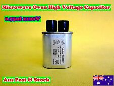 Microwave Oven Spare Parts High Voltage Capacitor CH85 0.75uF 2100VAC (C582)