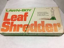 """19"""" Lawn-Boy Leaf Shredder"""