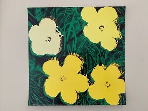 ANDY WARHOL,FLOWERS,1970, AUTHENTIC 2013 ART PRINT