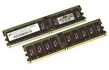 2x 4GB (8GB) MICRON 2RX4 PC2-3200R CL3 ECC REG MT36HTJ51272Y-40EA2 #717580
