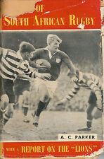 """""""giganti del Sud Africa Rugby"""" con una relazione sull' Leoni """"TOUR 1955 PARKER"""