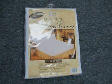 BETTER HOME DELUXE VINYL ZIPPERED MATTRESS COVER - PROTECTOR TWIN SIZE zippered!