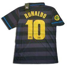 Maglia RONALDO 10 INTER 97 98 maglietta finale UEFA retro vintage da collezione