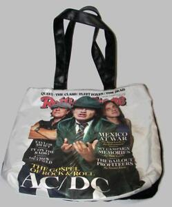 Rolling Stone Original Tote Bag, Issue 1065 (11/13/08) AC/DC  Rock & Roll -HM2