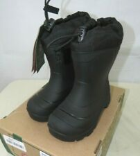 Kamik Snobuster1 Snow Boots Winter Black Size 9 US Toddler Small Kids