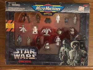 Star Wars Micro Machines Droids. Galoob. 1995. New.