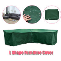 Outdoor Garden Corner Rattan Furniture Cover Sofa Waterproof Protective L Shape